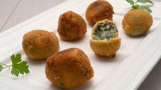 Croquetas de espinacas y piñones – Cocina Abierta de Karlos Arguiñano