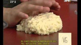 Croquetas de chorizo picante guaraní y queso